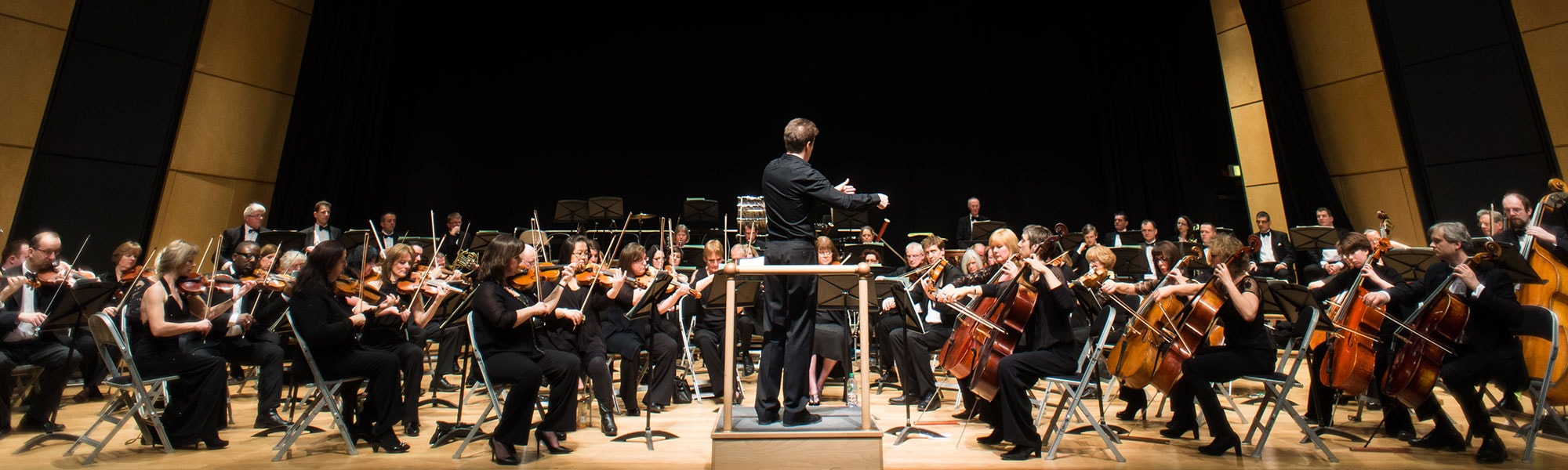 de Havilland Philharmonic Orchestra performing at The Weston Auditorium