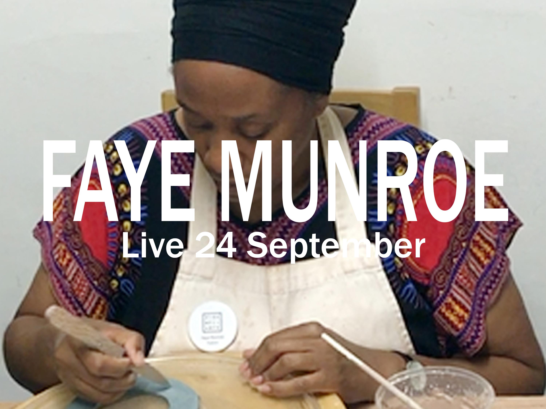 Faye munroe opens 24 Sept