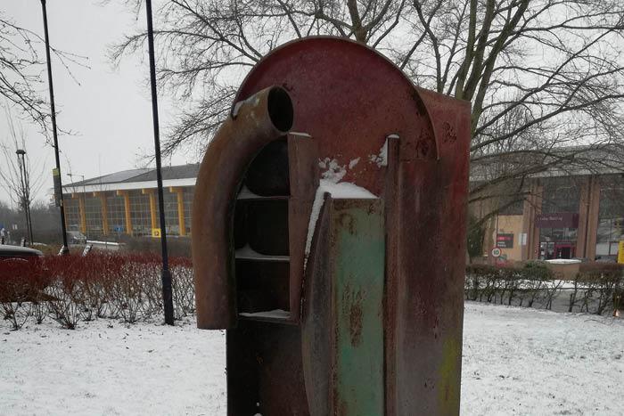 Sculptures in Winter
