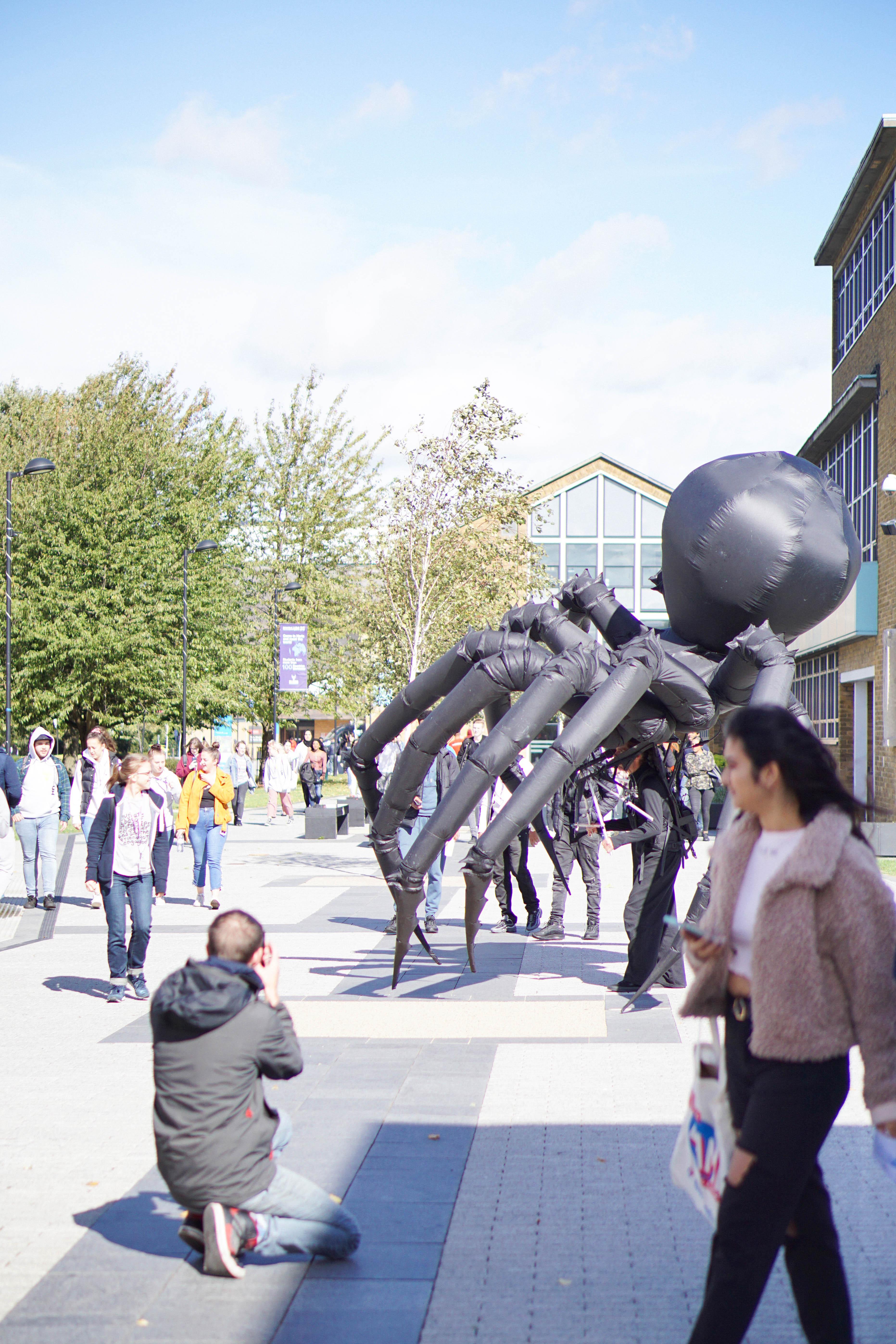 UHArts, Freshers fair, Arachnobot