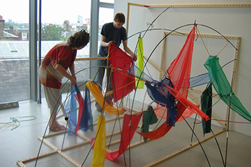 Between Materials and Mechanisms Exhibition