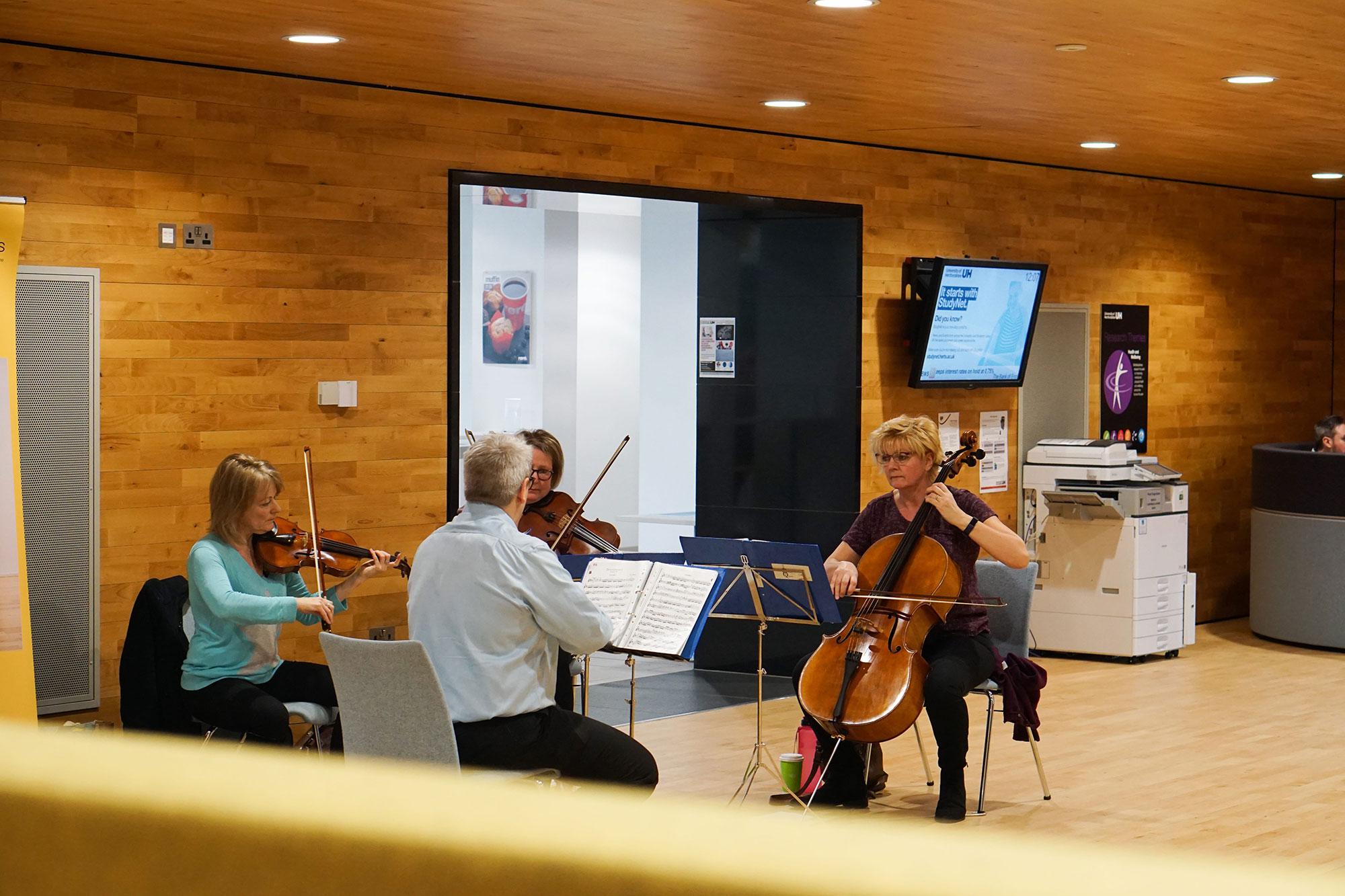UHArts, dHPO, String Quartet