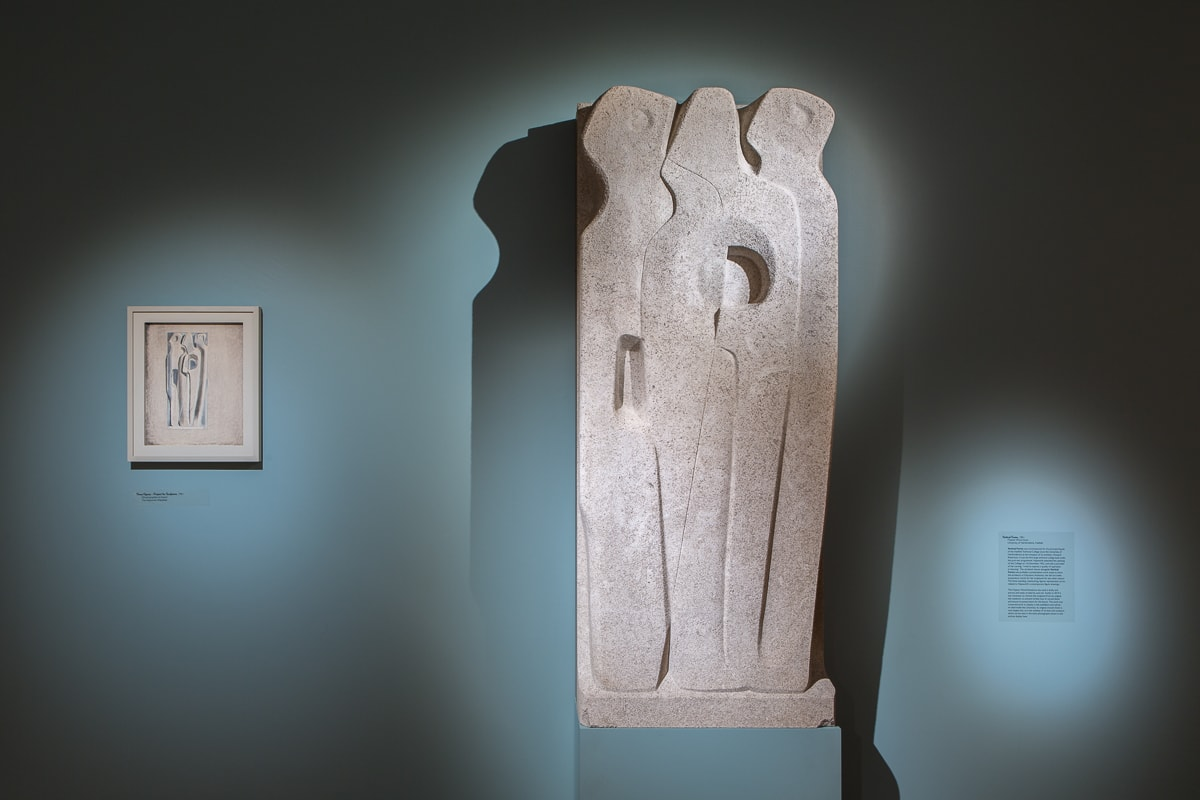 UHArts, Barbara Hepworth, Vertical Forms