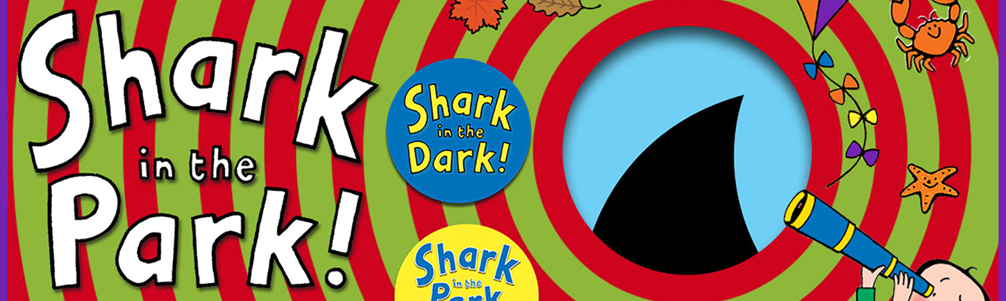 Shark In The Park Banner