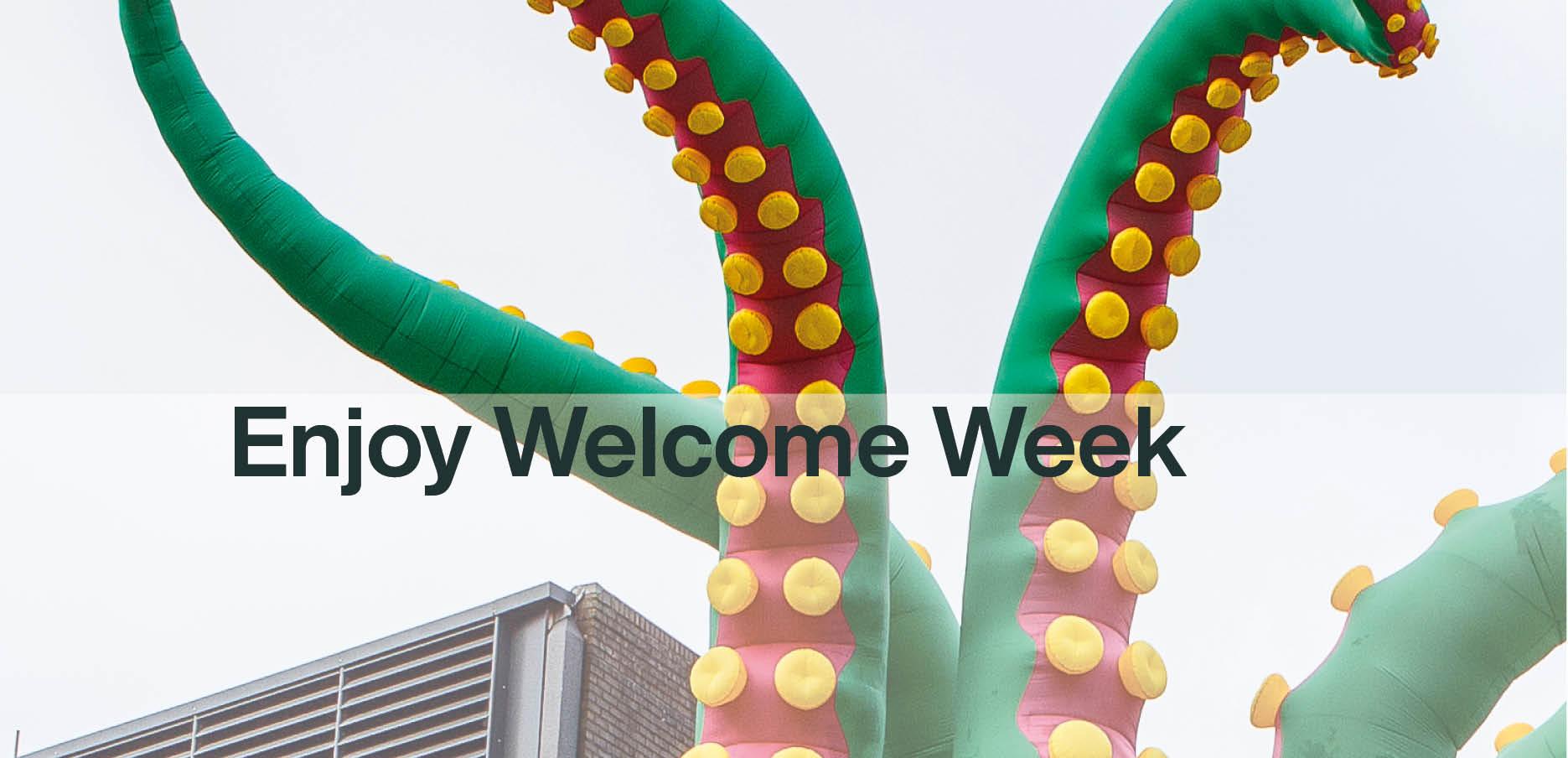 Welcome Week banner image